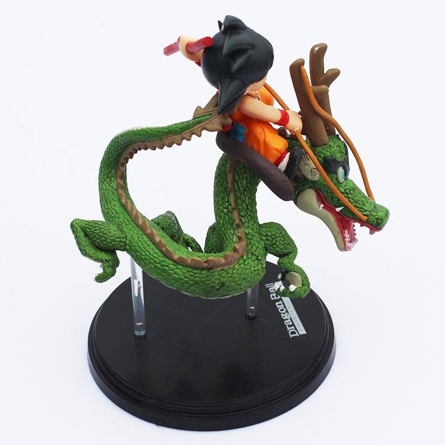 """7""""17Cm Dragon Ball Z Saiyan Gokou Shenron"""