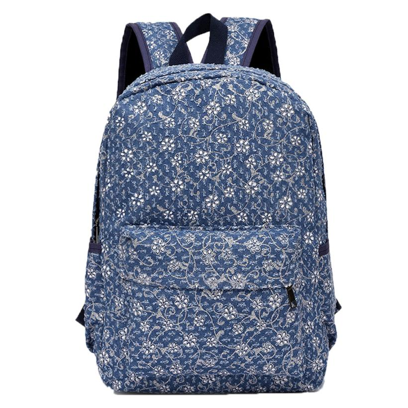 Canvas Backpack Girl Backpack Bags Liter Medium School Bag Handle Bag Oct16