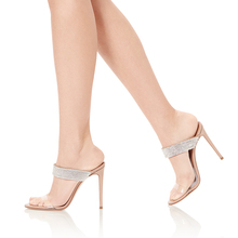 e41522e2ba Buy rhinestone clear transparent sandal and get free shipping on ...