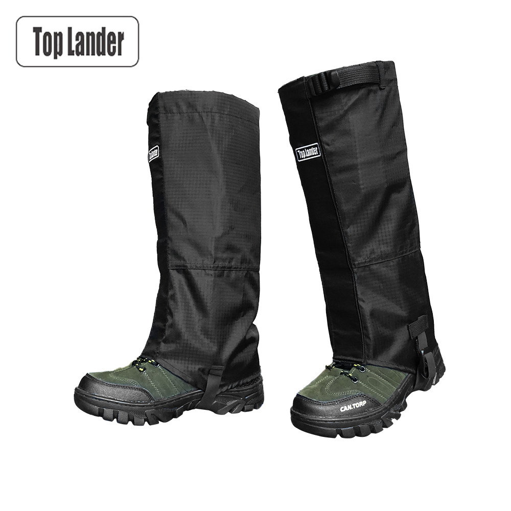 Waterproof Leg Gaiters For Hiking Hunting Backpacking Women And Men Outdoor Snake Proof Snow Boot Covers Gator