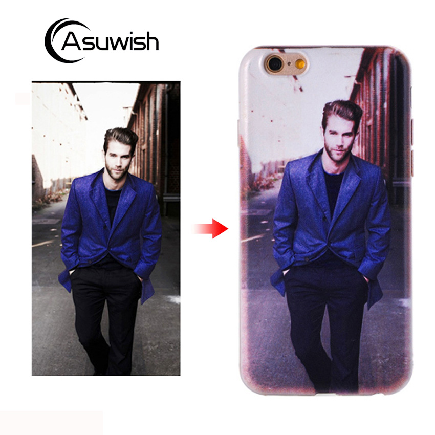 Asuwish Personalized Custom Silicone Case For Elephone S8 S 8 4G 6.0 P9000 P 9000 Phone Case Cute Transparent Soft TPU Cover Diy