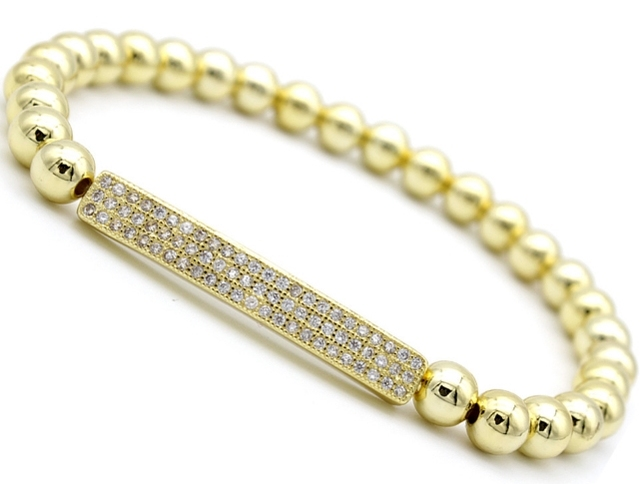 Strip Long Tube Gold Silver...