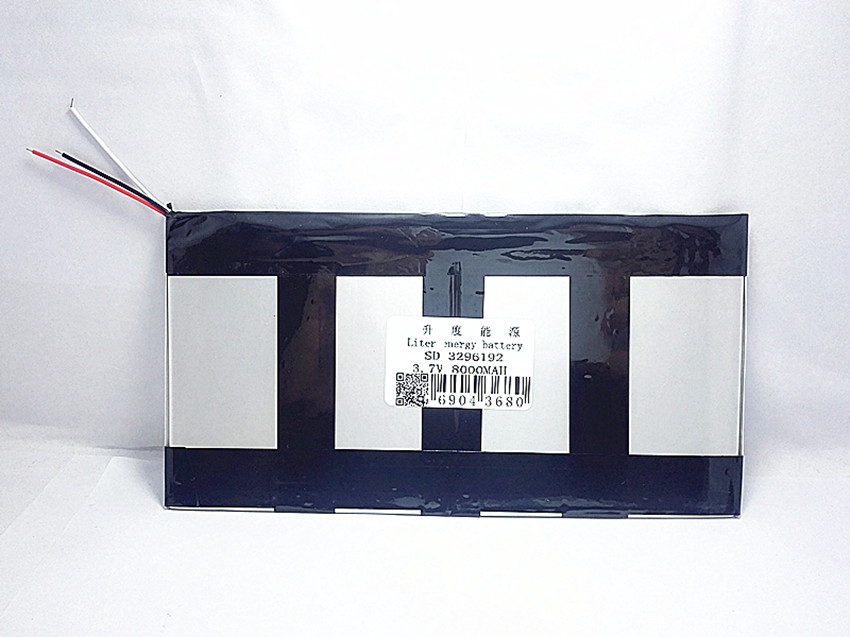 3.7V 8000mAh For Teclast X98 air 3G P98 3G, v99i Tablet PC Battery 3 wire Perfect quality of large capacity alternatives