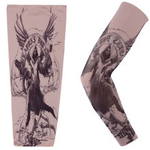 Women Men Tattoo Pattern Arm Sleeve Sleevelet Cover Cycling Bike Bicycle Warmers