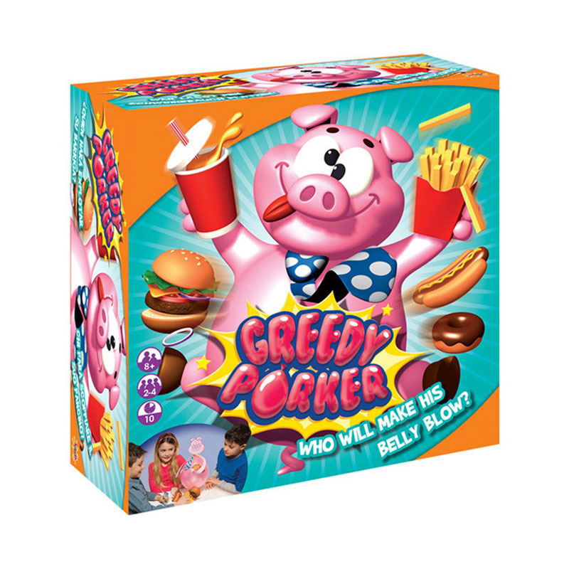 Novelty creative Greedy Porker Game pig board game explosion pig whole person spoof game Family interaction Toy