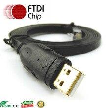 6ft Ftdi Usb Rs232 To Rj45สีดำคอนโซล72 3383 01สำหรับJuniper Huawei 3com Cisco Routers