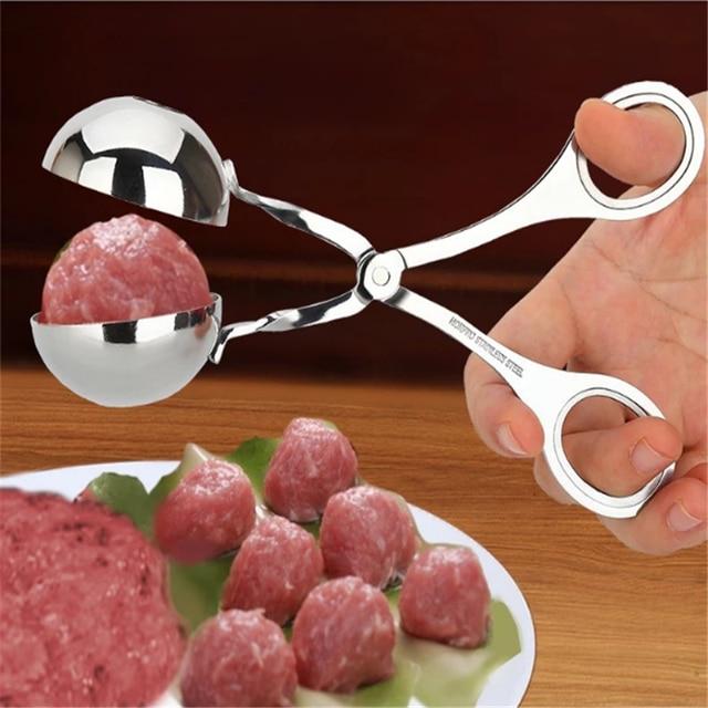 1Pc Gadgets de Cuisine antiadhésif pratique viande Baller outil de cuisson Cuisine boulette de viande Scoop boule fabricant accessoires de Cuisine Cuisine. Q
