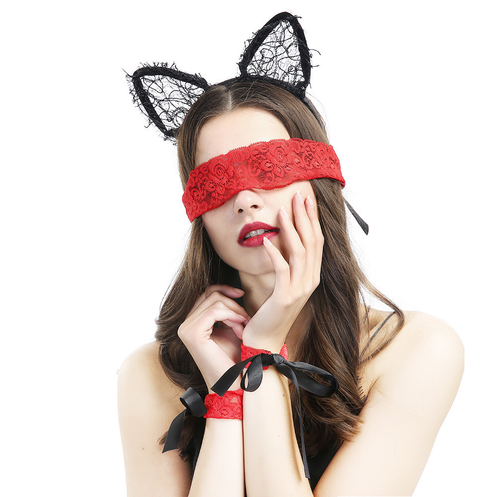 8a9aaf54fec Details about Exotic Clothing Sexy lingerie hot Lace Mask Blindfolded Patch  underwear erotic