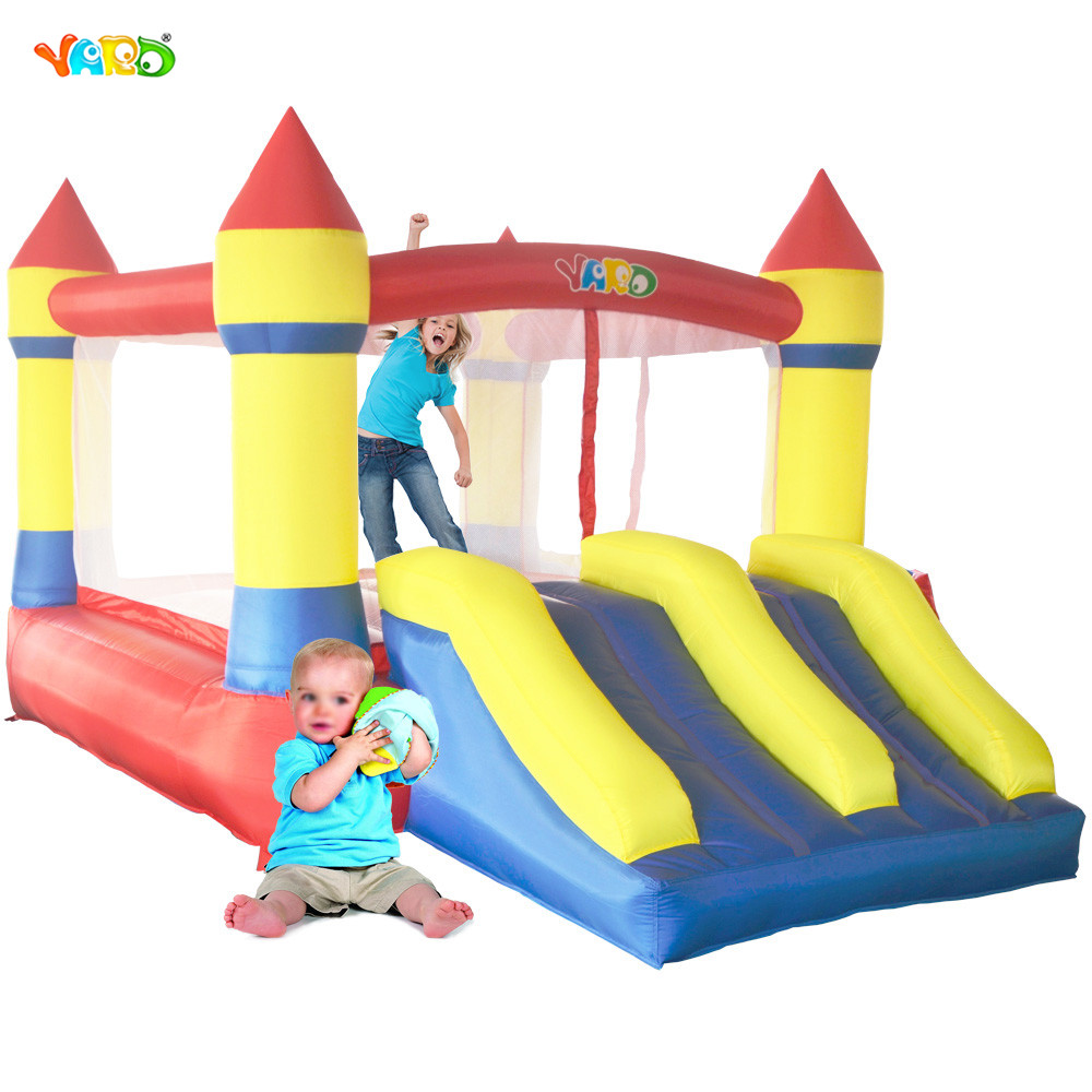 YARD High Quality Bounce House Home Use Inflatable Bouncy Castle with Blower for Kids yazole 2017 fashion quartz wristwatch mens watches top brand luxury famous male clock wrist watch male hodinky relogio masculino