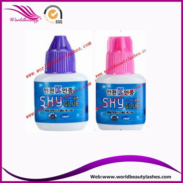 D type eyelash extension glue,Korea stronger Glue,Eyelash Adhesive 5 pieces  10ml
