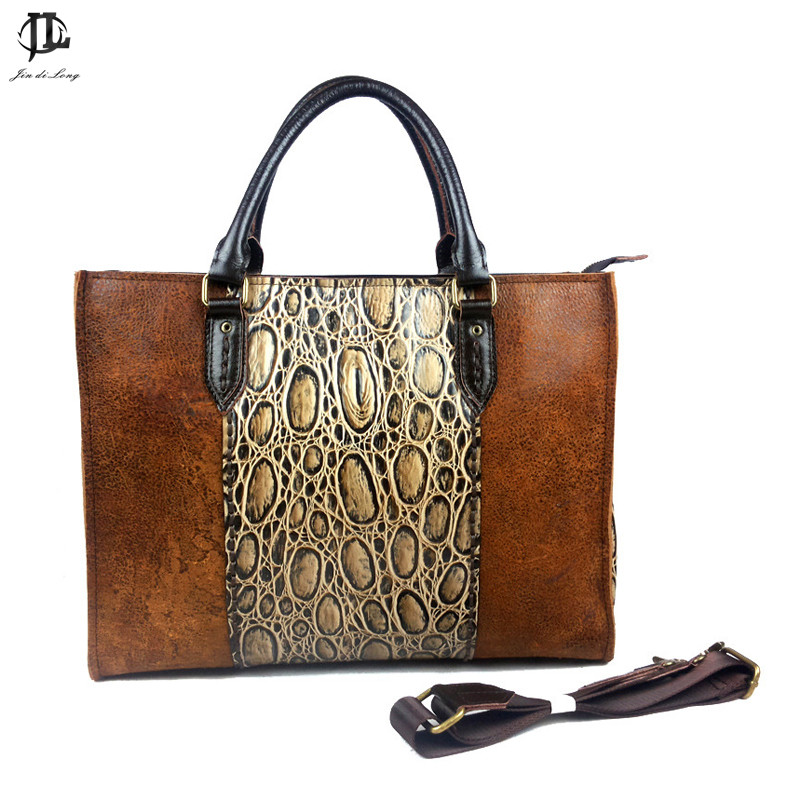 Brand New Retro Nomade Vegetable Genuine Leather Women Handbag Crossbody Shoulder Tote Zipper Travel Trend Fashion Bags