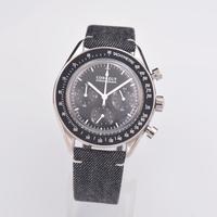 Corgeut Watch Men Fashion Sport Multifunction Quartz Clock Mens Watches Top Brand Luxury 24 hours full chronograph Wrist watch