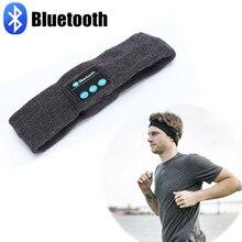 Sport Wireless Bluetooth Hat earphone Headset Headphone Bluetooth Headband running Yoga Sweat Scarf mp3 play Handsfree for phone