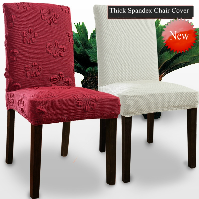 ROMANZO Thick Fabric Colorful Universal Spandex Chair Cover Dining Slipcovers Office Computer Coverture Chaise Curbresillas ...