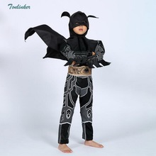 Boys Bat man Clothing Superhero Capes Halloween Christmas Cosplay Party Costume Childrens Clothes Suit For Kids