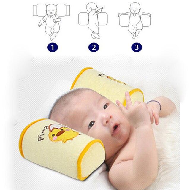 5 шт./лот удобный хлопок anti-ролл подушка прекрасный малыш сейф мультфильм сна глава позиционера анти-опрокидывания