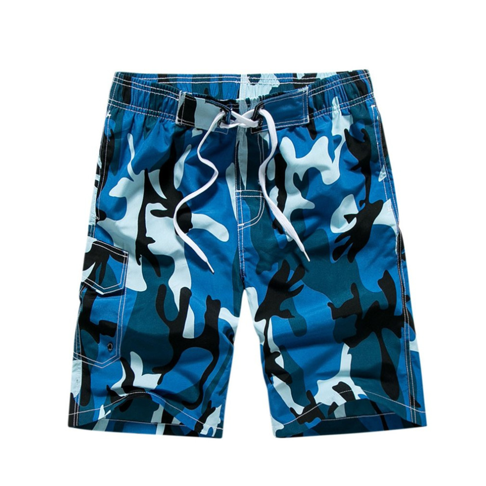 Quick Dry Men   Shorts   Casual Beach   Short   Hawaiian Summer Loose Men's   Board     Shorts   Plus Size Camouflage Mens   Short   Pants
