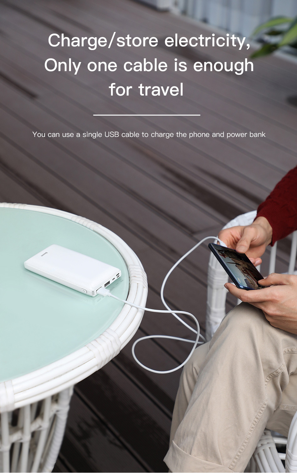 Travel Last For Powerbank 7