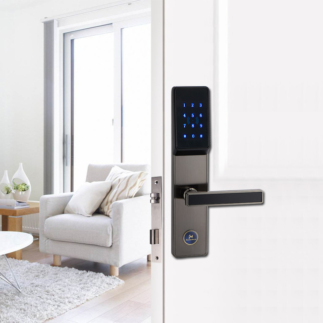 Elektronische Türschloss einfache verwaltung elektronische türschloss bluetooth smartphone
