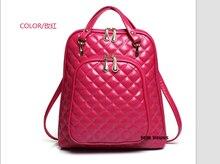 2017 весна новая мода рюкзак сумка Корейский приливные Ватные сумка двойной женский PU кожаная сумка