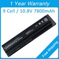 New 9 cell 7800mah laptop battery for hp HDX16 HDX16t X16-1300 X16t-1000 X16t-1100 X16t-1200 462889-761 484172-001 HSTNN-Q34C