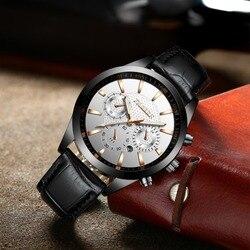 FNGEEN Waterproof Sport Watches Men Top Brand Luxury Men's Watch Men Auto Date Luminous Watch Clock reloj hombre horloges mannen