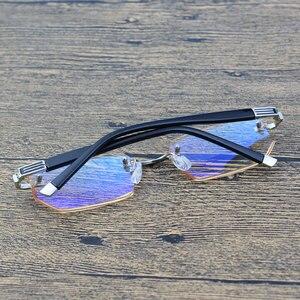 Image 4 - Vanlook 시력 투시를위한 diop터가있는 학위 반사 방지 안경 안경의 무테 안경 + 1 1.5 2 2.5 3 3.5 4