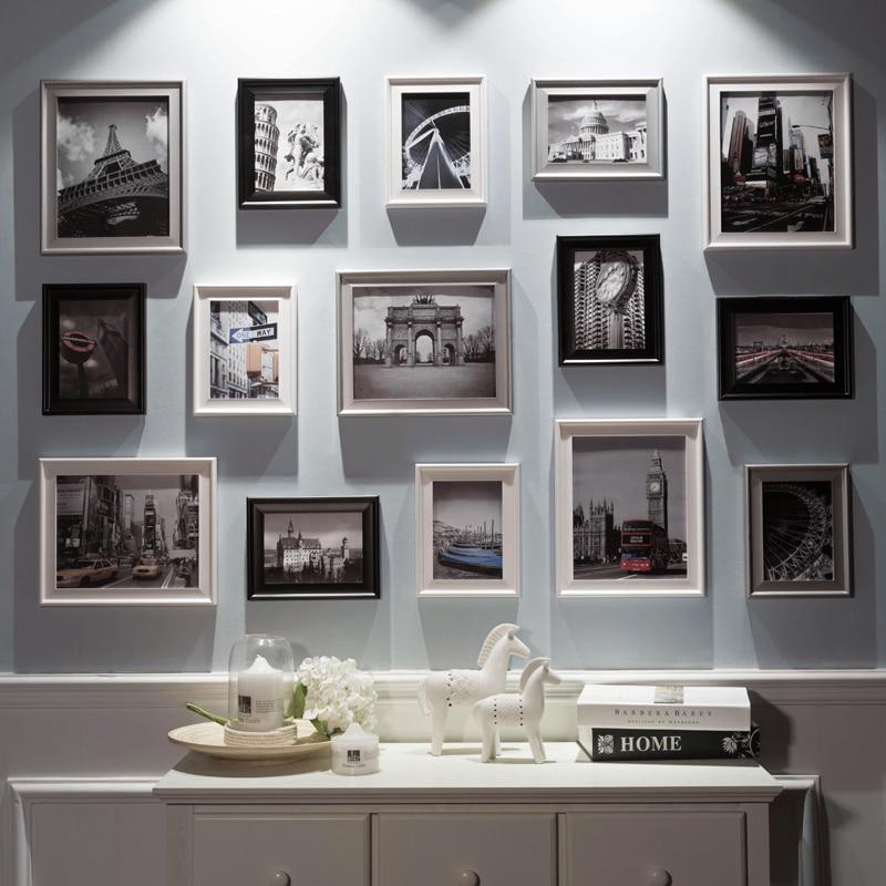 Hermosa Foto Negro Marcos Baratos Embellecimiento - Ideas ...
