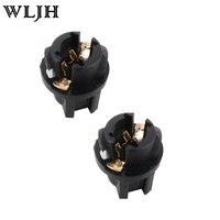 500pcs T5 Twist Lock Socket Wedge Base 3 8 Socket Dashboard Instrument Panel Cluster Plug Lamp