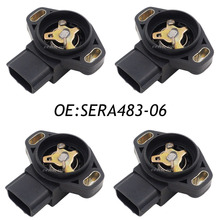 Новый 4 ШТ. SERA483-06 Датчик Положения Дроссельной Заслонки Для Suzuki Vitara Subaru Impreza Наследие SERA483-06 Оригинальные