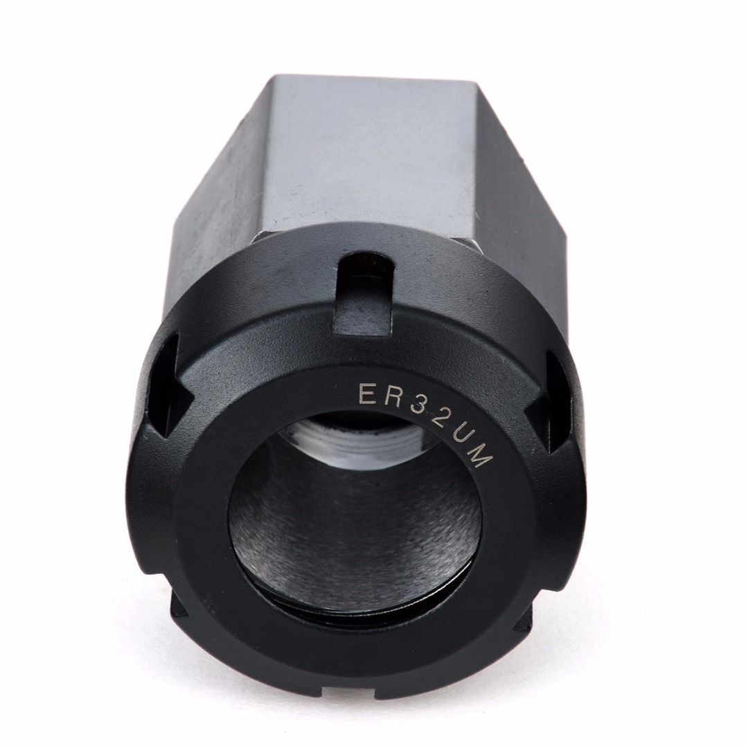 1pc 65mm Length Hex ER32 Collet Block 45mm Diameter Spring Chuck Collet Holder For CNC Lathe Engraving Machine