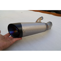 MOKALI Customized Titanium Motorcycle Exhaust For Ducati 959 Carbon Echappement Moto Muffler Ktm
