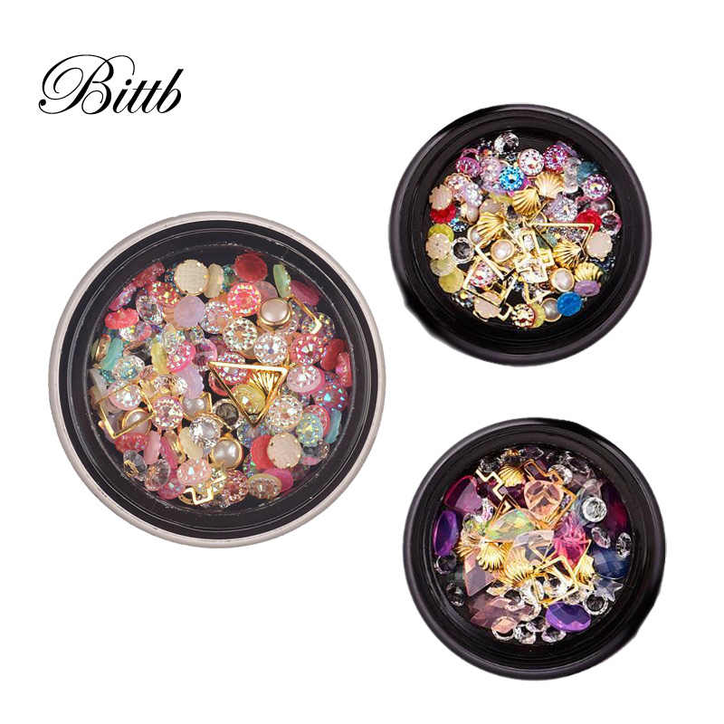 ... Bittb 1 Box Mixed Nail Resin Rhinestones Gems Rose Pearl Nails Jewelry  Charm Manicure Nail Art. RELATED PRODUCTS. Bittb Nail Art Decoration Charm  Gem ... 7cbbde75aa4f