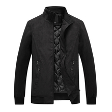 Autumn Winter Fashion Men Jackets Large Size 3XL-6XL Stand Collar Big Man Classical Thick Warm Outwear Casual Coats