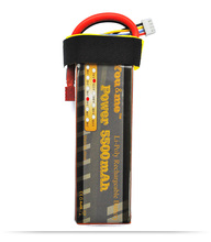 You&me Grade A cell 11.1V 5500mah 35C Max 70C RC Li-po battery For Helicopters RC Models RC toys