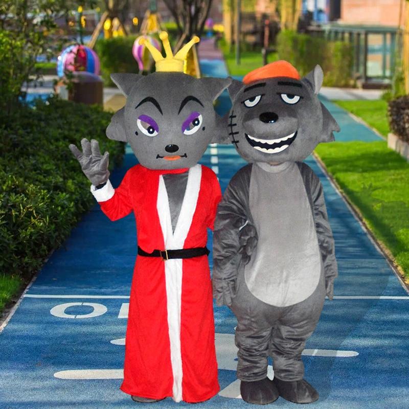 Mouton mascotte Costume costumes Cosplay partie jeu robe tenues vêtements publicité carnaval Halloween noël pâques Festival adultes - 3