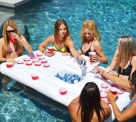 WYNLZQ 180*83 cm FoldingTable Flottant Jouets Gonflables-ons D'été de L'eau Jouet pour Adulte Piscine Radeaux De Natation Gonflable jouets Partie