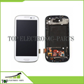 OEM AAA  For Samsung Galaxy S3 I9300 GT-I9300 LCD Display Touch Screen Digitizer With Frame Assembly