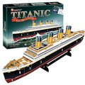 Candice guo! 2013 newest 3D puzzle toy CubicFun 3D paper model jigsaw game DIY Titanic royal mail steamship