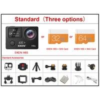 Экшн-камера EKEN H6S Ultra HD, оригинальная спортивная камера с чипом Ambarella A12, 4K/30 кадр/с 1080P/60 кадр/с, система электронной стабилизации, водонепрониц... 4
