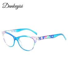 0010d347e7 DANKEYISI gafas de lectura Vintage gafas lector transparente Anti luz azul  gafas hipermetropía gafas