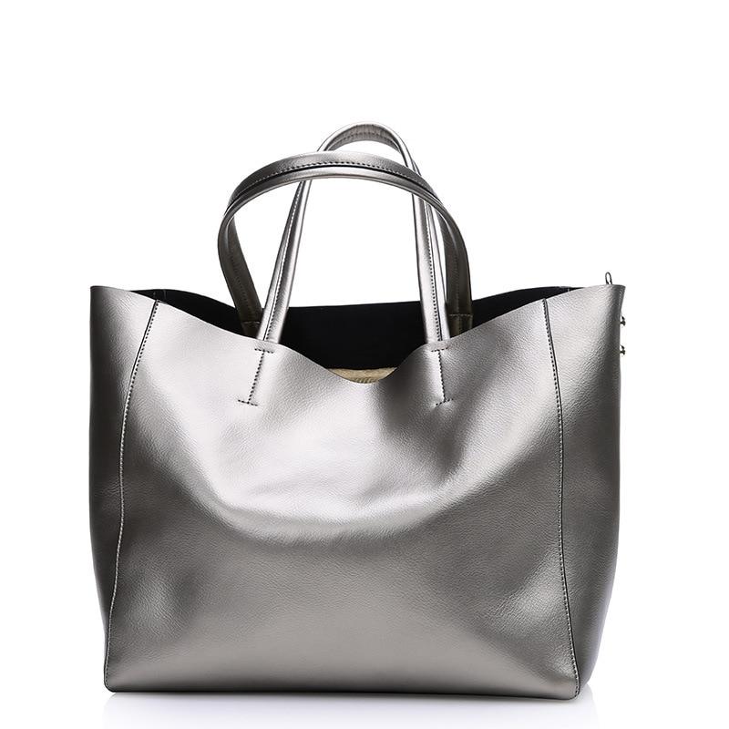 Fashion Women Real Genuine Leather Causual Women Handbag Large Shoulder Bags Elegant Ladies Tote Satchel Purse Bolsa 2016 blanc nature майка