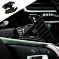 Real da fibra do carbono Volante DSG Paddle Extensão FIT VW Golf MK7 7 R GTI GLI R-line GTE