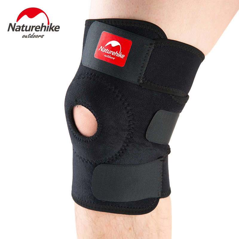 Naturehike NH15A001-M Compression Knee Sleeve Knee Brace Support for Meniscus Tear Arthritis Quick Recovery Running CrossFit 1pair health care knee brace support therapy compression sleeves for arthritis meniscus tear acl pain relief injury recovery