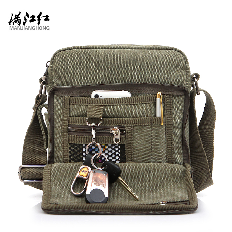 Men Casual Canvas Colid Cover Zipper Male Crossbody Bag Bolsa Masculina Men's Messenger Bags Vintage Single Shoulder Bags canvas rivet single shoulder bags vintage fashion solid zipper male crossbody bag luxury casual handbags men travel package