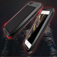 Shockproof Dustproof Aluminum Gorilla Metal Cover Case For Apple IPhone Models 4 4s 5 5s SE