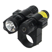 Tactical Weapon 50Nm Red Laser Sight Fast And Accurate Finding Targets 80 Lumens Flashlight Shooting Target