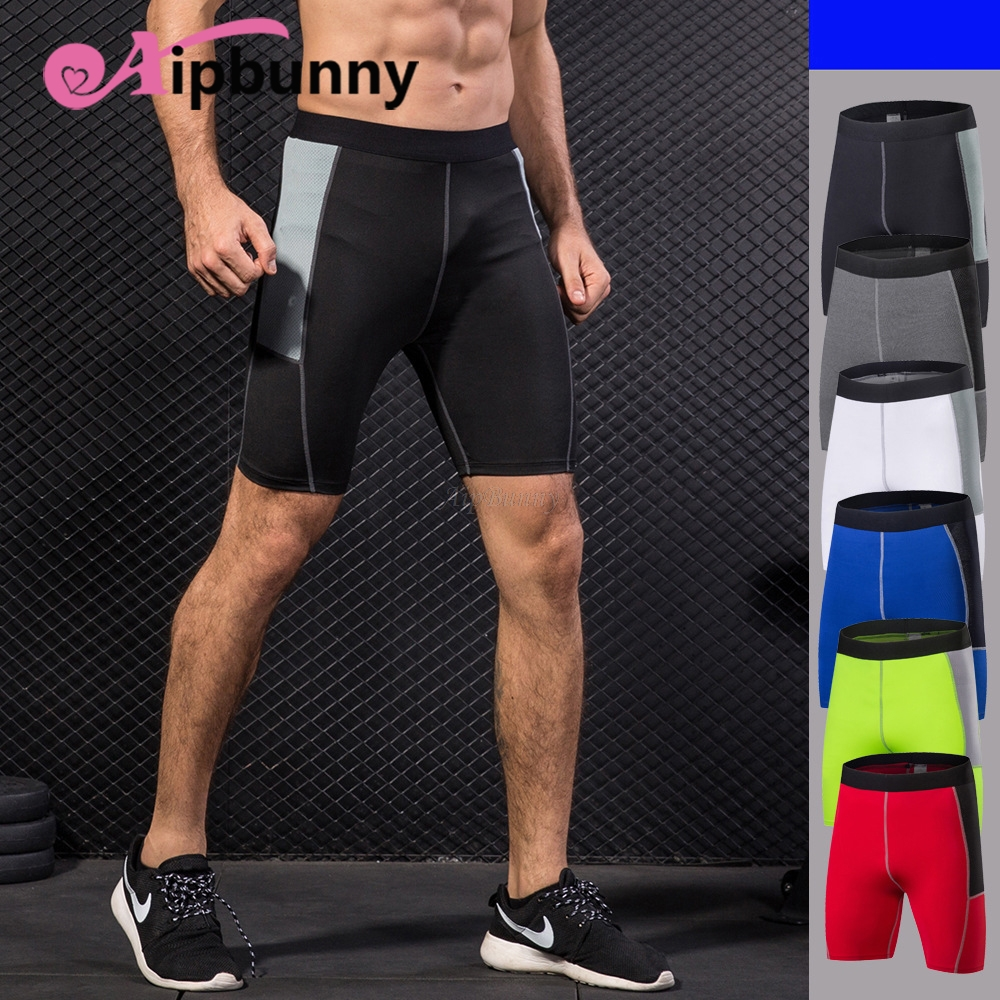 Aipbunny 2018 Quick-drying Stretchy Sports Shorts For Men Beach Tights Bodybuilding Sweatpants Fitness Jogger Gym Workout Short