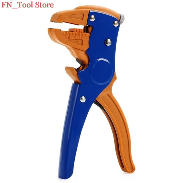 FASEN Free shipping HS-700D 0.25-6mm2 High Quality Self-adjusting Insulation Wire Stripper Cutter Hand Crimping Tool