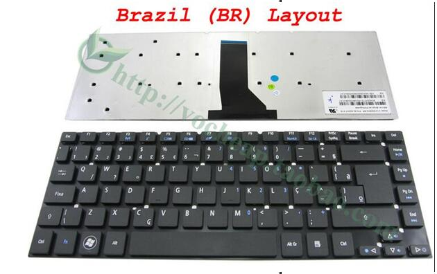 NEW FOR Acer Travelmate P245-MPG P246-M P246-MG Keyboard Nordic
